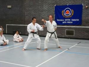 1 Demo Kancho & Hans Kumite