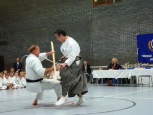 1 Demo Kancho & Hans Stick Sai Falling
